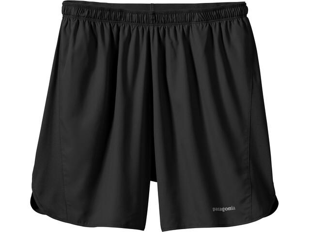 """Patagonia Strider Shorts Men 7"""" Black"""